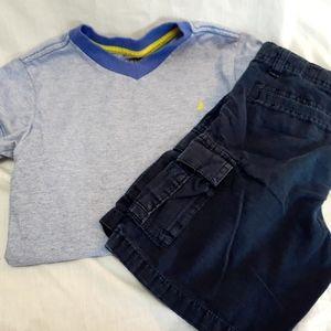 Nautica 2pc set. Shirt and pants size 6.